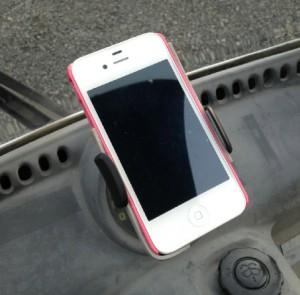 iPhone車載ホルダー